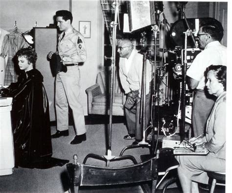presley smith behind the scenes images from elvis in g i blues 187 shotonwhat behind the