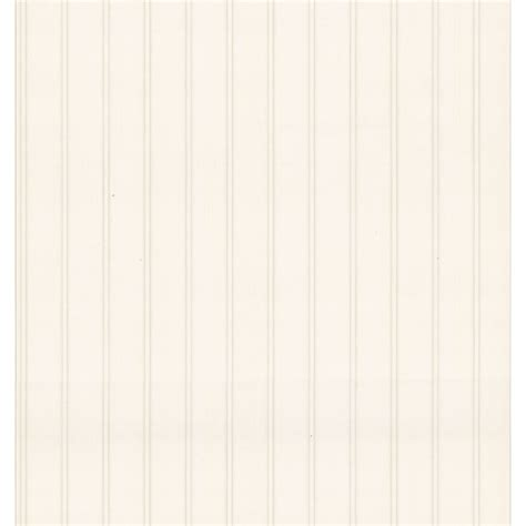 Shop Brewster Wallcovering Beadboard Wallpaper At Lowescom
