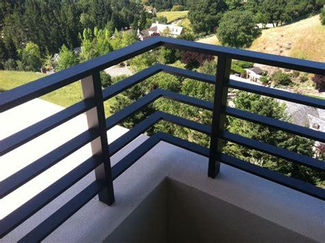 aluminum flat bar deck rail
