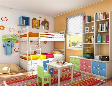 Low And Wide Bookcase by Kids Room Designs And Children S Study Rooms