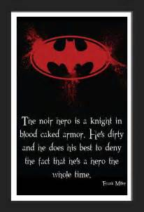 Batman Hero Quote