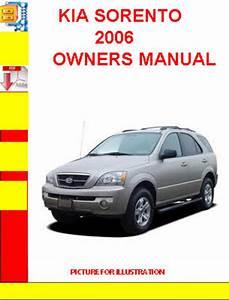 Kia Sorento 2006 Owners Manual