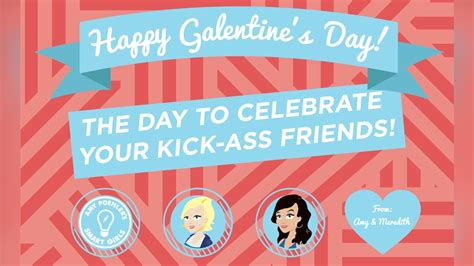 amy poehler galentine s day galentine s day cards the sequel amy poehler s smart girls