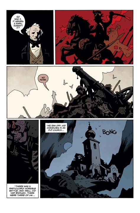 hellboy  hell  profile dark horse comics