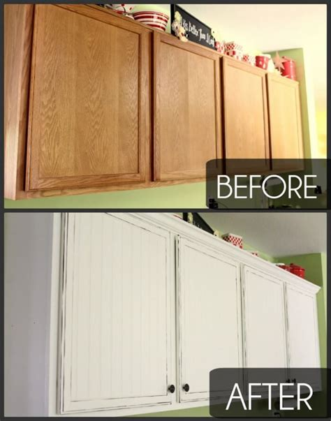 Easy Kitchen Cupboard Makeover
