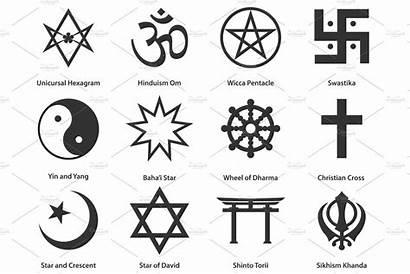 Symbols Religious Icon Pre Creative