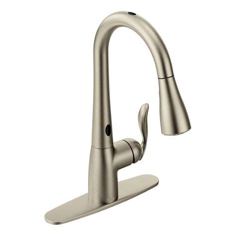 moen arbor single handle pull sprayer touchless