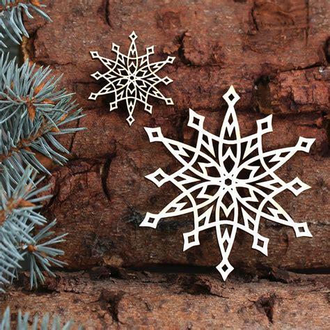 Fensterdeko Weihnachten Aus Holz by Baumschmuck 2er Sets Weihnachtssterne Sterne Baumbehang