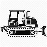 Equipment Construction Heavy Bulldozer Digger Transparent Hook