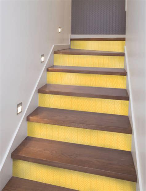 peel  stick stair riser decals mirth studio