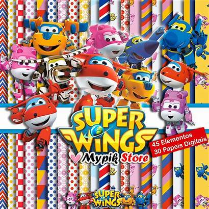 Wings Kit Silhouette Scrapbook Arquivo Papel Elo7