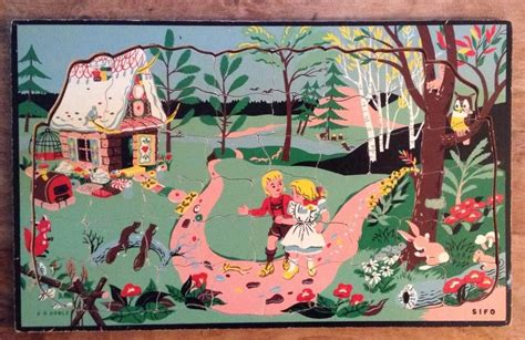 Sifo Hansel And Gretel Jigsaw Puzzle By Ar Noble