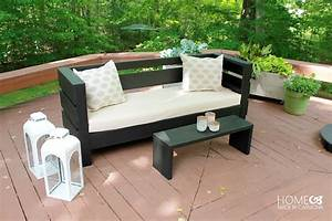 Learn How to Build an Outdoor Sofa and Coffee Table - Wood