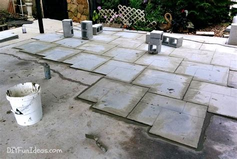 diy sted concrete tile tutorial do it yourself ideas
