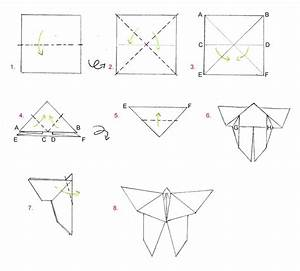Origami Animaux Facile Gratuit : origami le papillon ma petite sph re de tutos ~ Dode.kayakingforconservation.com Idées de Décoration