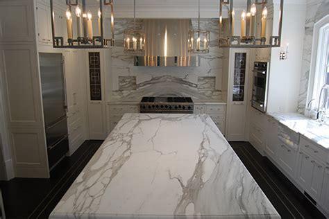Calcutta Gold Marble  Contemporary  Kitchen  New