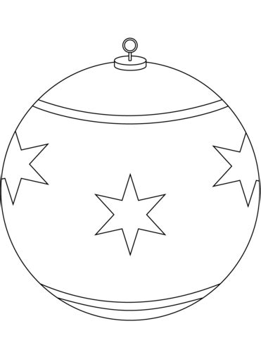 color christmas ball ornament template ornament coloring page free printable coloring pages
