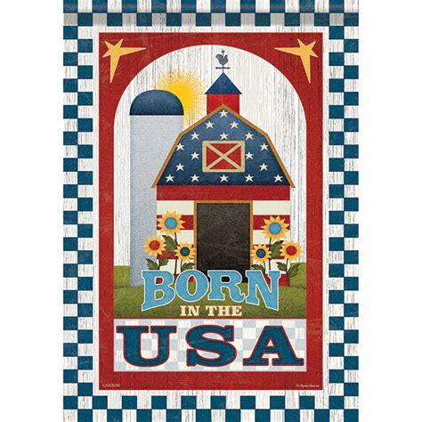 Patriotic Garden Flags by Patriotic Barn Garden Flag