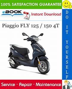 Piaggio Fly 125    150 4t Service Repair Manual