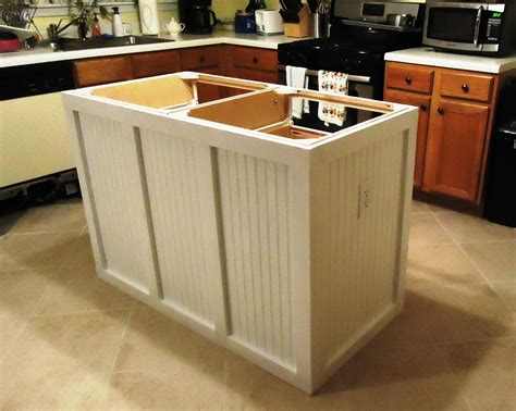 diy kitchen island from stock cabinets walking to retirement the diy kitchen island