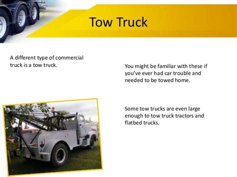 Types Of Commercial Trucks