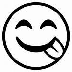 Emoji Face Clipart Tongue Savoring Cara Saboreando