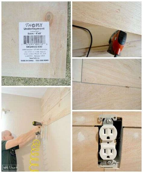 Easy Shiplap by How To Install Shiplap In No Time At All Page 5 Of 8