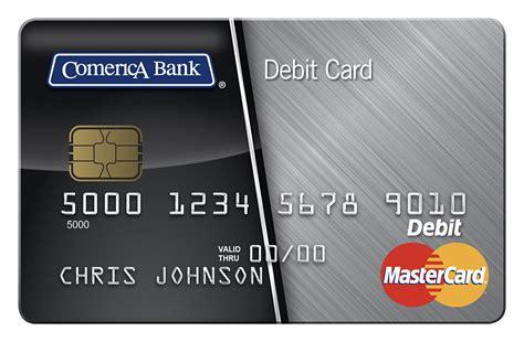 Comerica Debit Mastercard & ATM card   Comerica