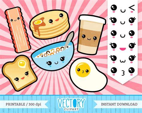 cuisine kawaii 12 kawaii breakfast clipart kawaii emoticons