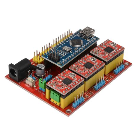 cnc shield v4 expansion board nano 3 0 stepper a4988