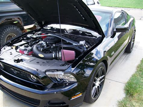 centrifugal supercharger   gt ford mustang