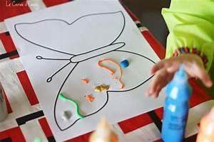 Bricolage 3 Ans : le printemps mon joli papillon bricolage pour enfant ~ Melissatoandfro.com Idées de Décoration