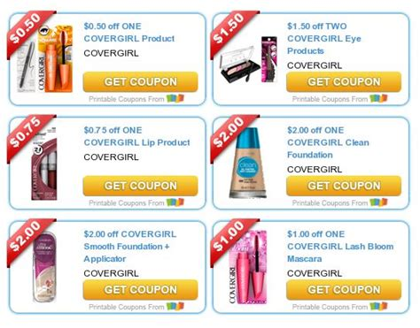 covergirl printable coupons new covergirl coupons 21215 | CoverGirl Coupons
