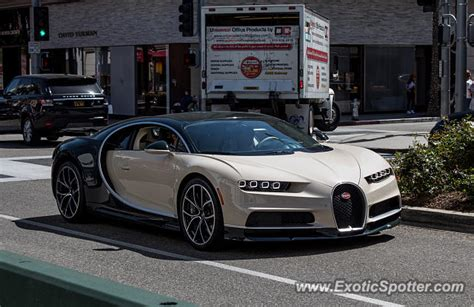 Bugatti Chiron Spotted In Beverly Hills, California On 04