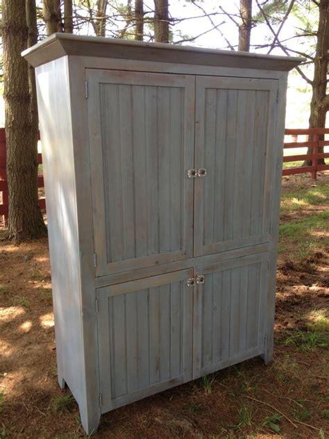 slate blue armoire furniture   barn
