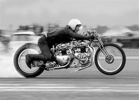 Vintage Motorcycle Drag Racing Photos