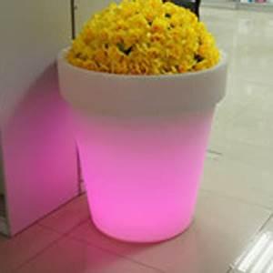 Pot Fleur Lumineux : pot de fleurs lumineux 66 x 60 cm sur grossiste chinois import ~ Nature-et-papiers.com Idées de Décoration