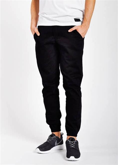 Jogger Pants Black Publish Brand Style
