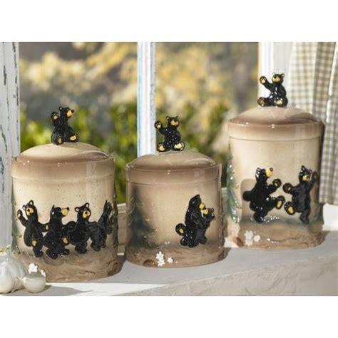 black kitchen canisters sets 2 black kitchen canister set lodge decor