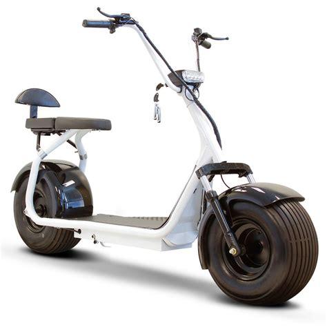 e scooter motor new tire electric scooter white 20 mph 23 per charge 800 watt motor ev ebay