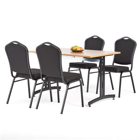 restaurant package deal table 4 chairs aj products