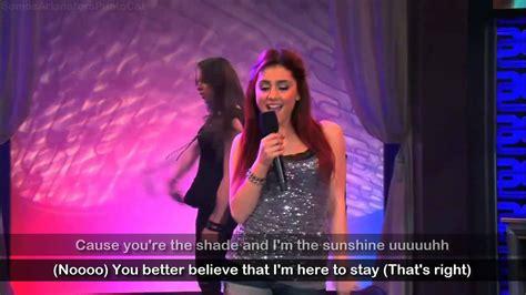 Ariana Grande Ft. Elizabeth Gillies [lyrics