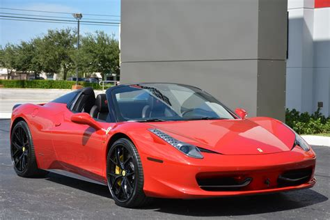 Used 458 Spider used 2015 458 spider for sale 224 900 marino