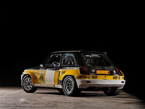 renault 5 turbo racing 1981 renault 5 turbo rally race racing classic wallpaper