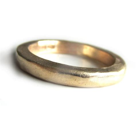 thick solid gold wedding ring in 22 carat yellow gold catherine marche bespoke fine ethical