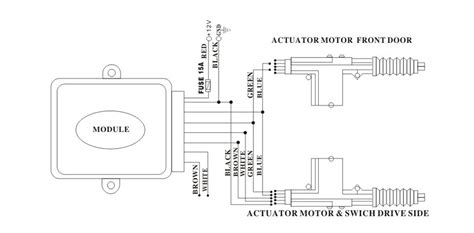 Universal Central Lock System Working With Car Alarm