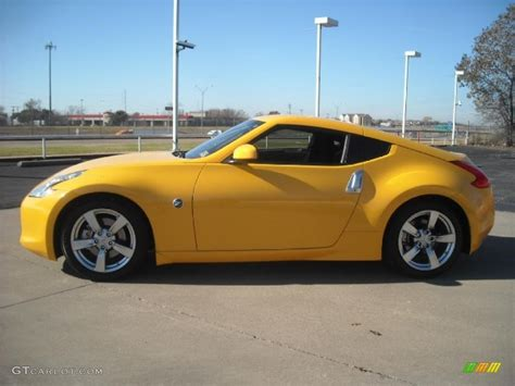 nissan yellow 2009 chicane yellow nissan 370z coupe 23399600 gtcarlot