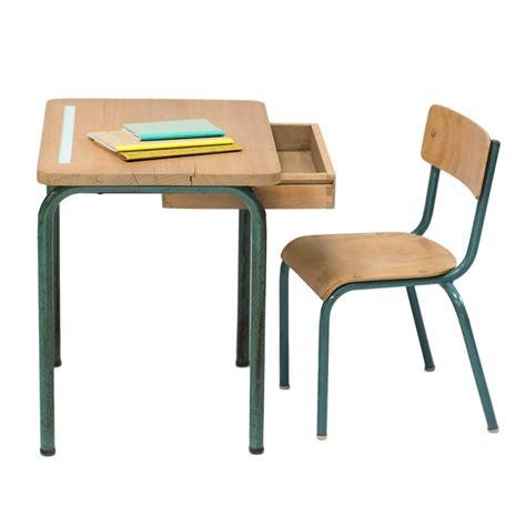 chaise de bureau enfants bureau et chaise d 39 école vintage quot anatole quot