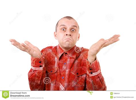 I Don't Know! Stock Photo. Image Of Disbelief, People