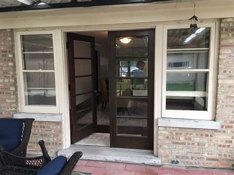 unique patio door  window combination
